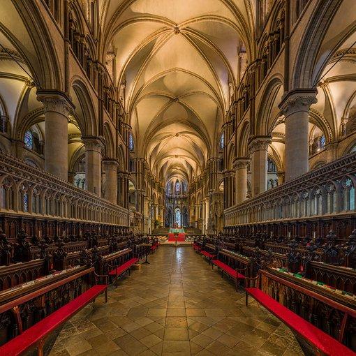 Canterbury Cathedral Choir, by David Iliff