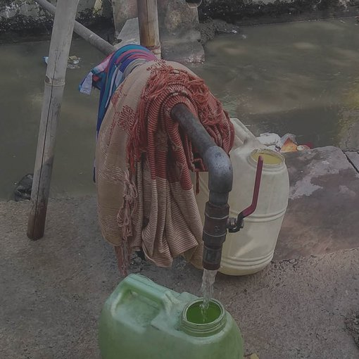 Water collection in India - header