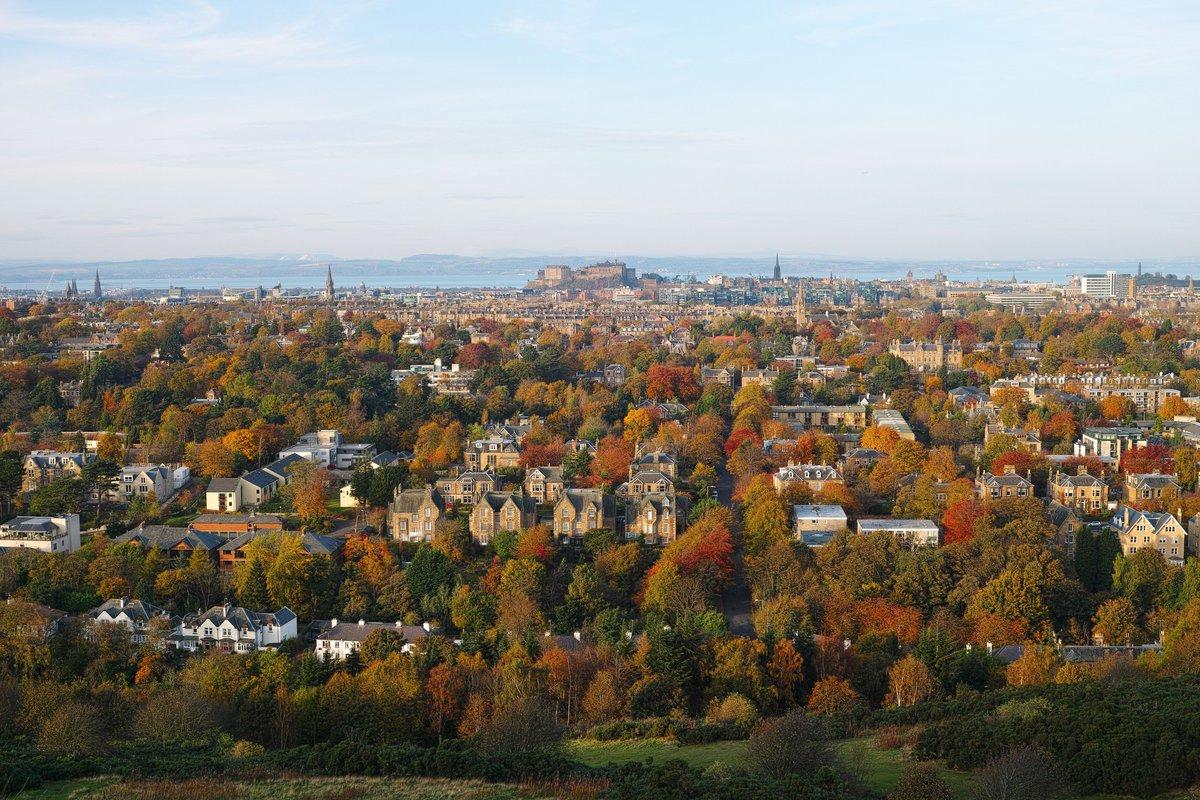 Autumn In Edinburgh Photo • By DTB's Photography  500px.jpg