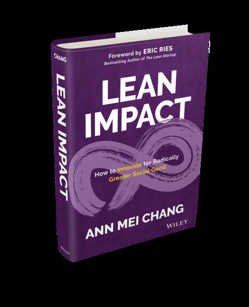 Lean Impact Ann Mei Chang