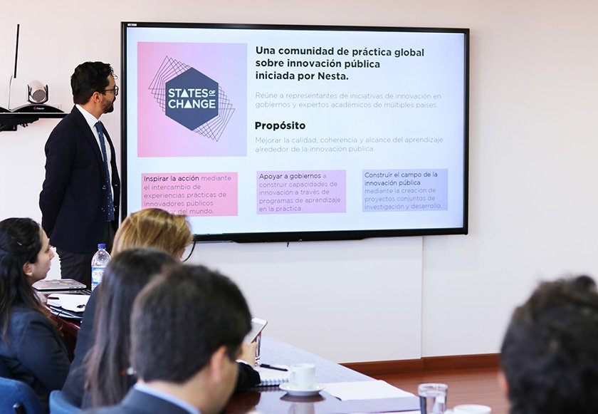 Colombia innovation strategy meeting