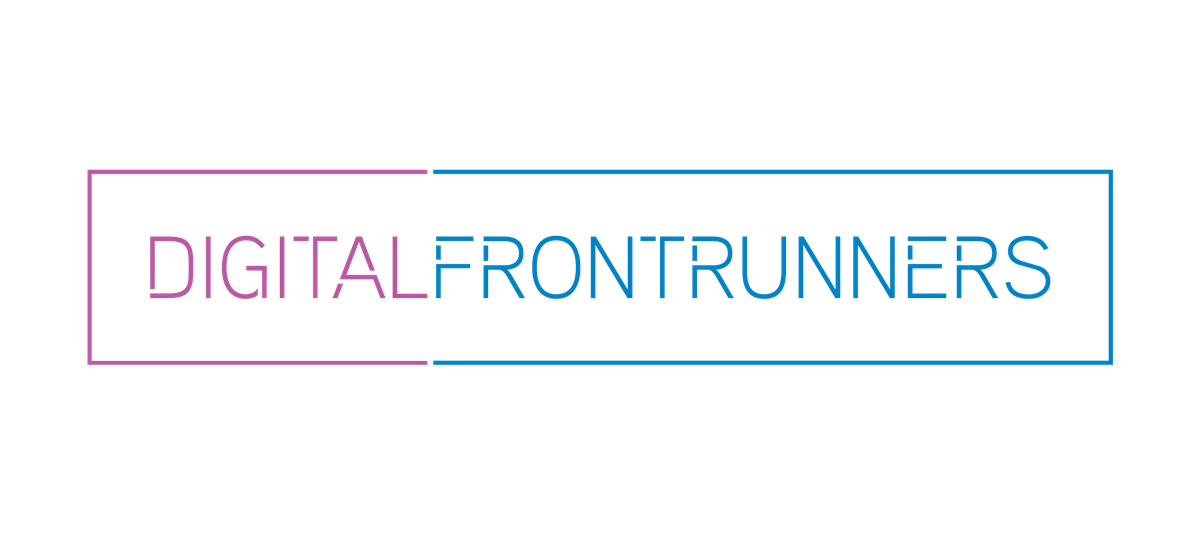 Digital Frontrunners logo - transparent background