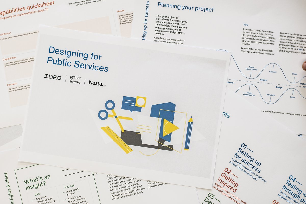 Designing For Public Services A Practical Guide Nesta