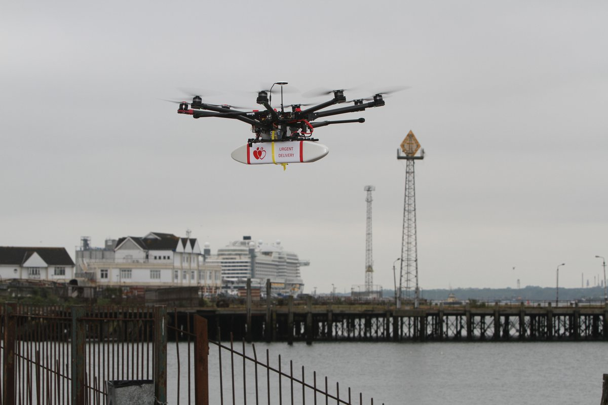 Southampton's vision for urban drone technology