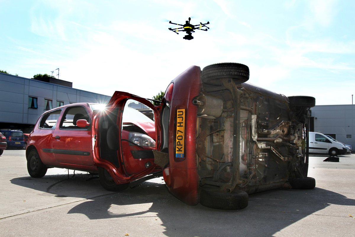 West Midlands' vision for urban drone technology