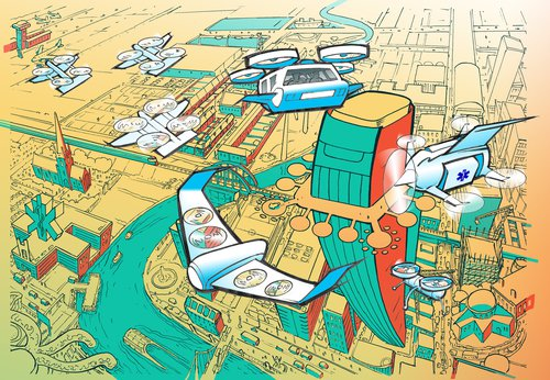 Flying High: The future of drone technology in UK cities