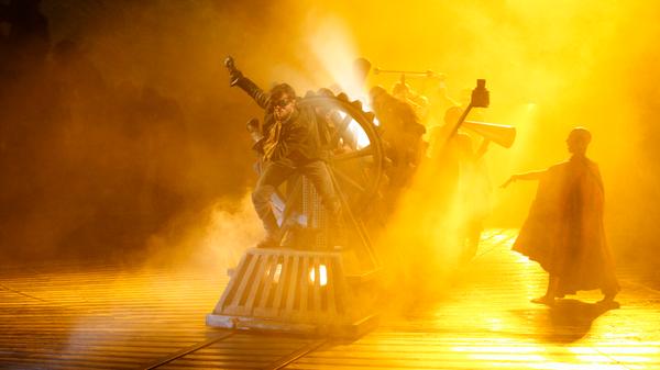 NT production of Frankenstein