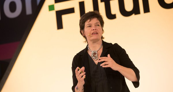 Kate Raworth at FutureFest