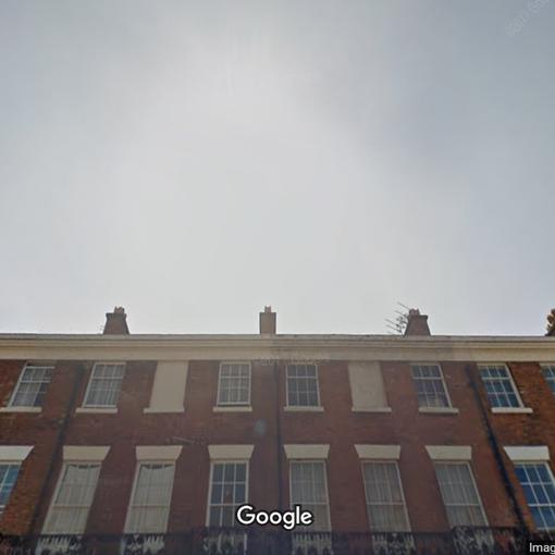 Google Street View Liverpool Georgian Terrace
