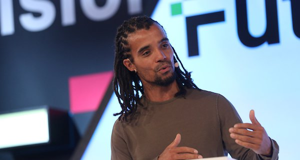 Akala speaks at FutureFest 2018