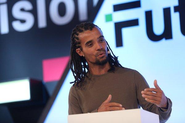 Akala speaks at FutureFest 2018