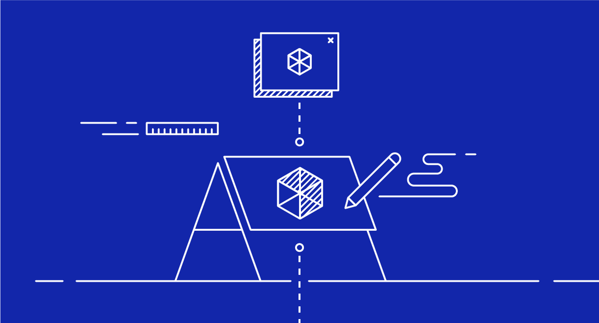 Illustration of prototyping - innovation methods