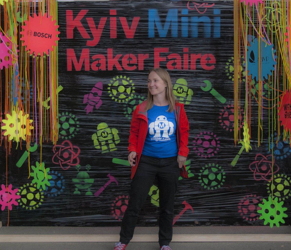 Svitlana Bovkun - Maker Faire Ukraine