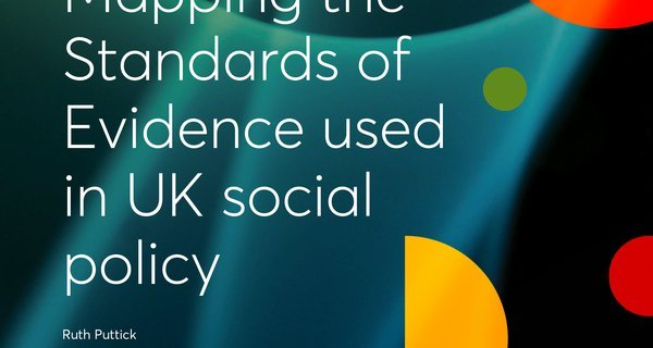Mapping Standards of Evidence used in UK social policy cover