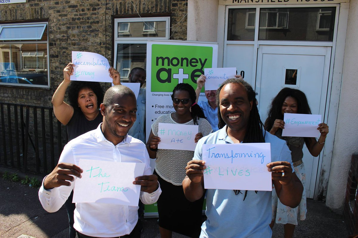 The Money A+E team - Inclusive Economy Partnership