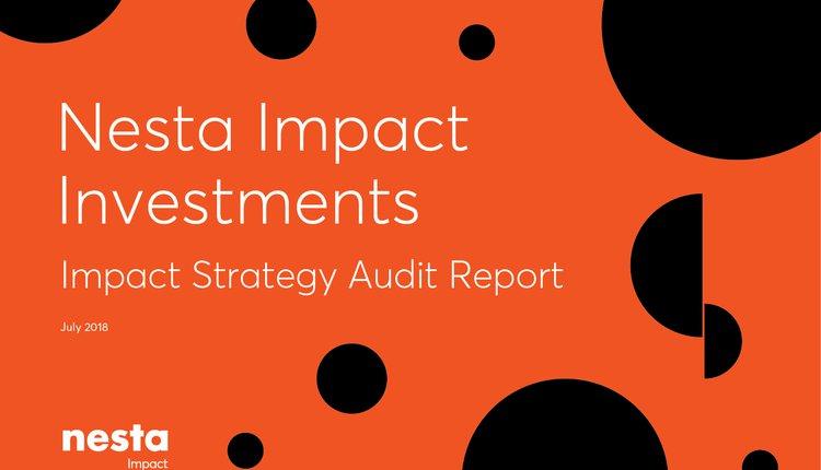 Nesta Impact Investments | Nesta