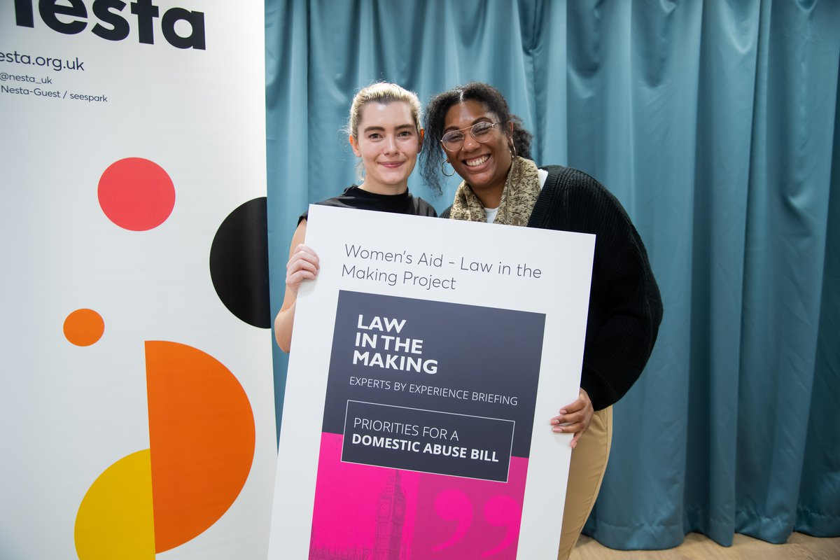 Women's Aid Senior Engagement Officer and Expert by Experience