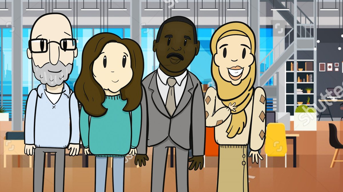 Coventry University Online student support team - Fadzayi, Finlay, Halima & Kevin