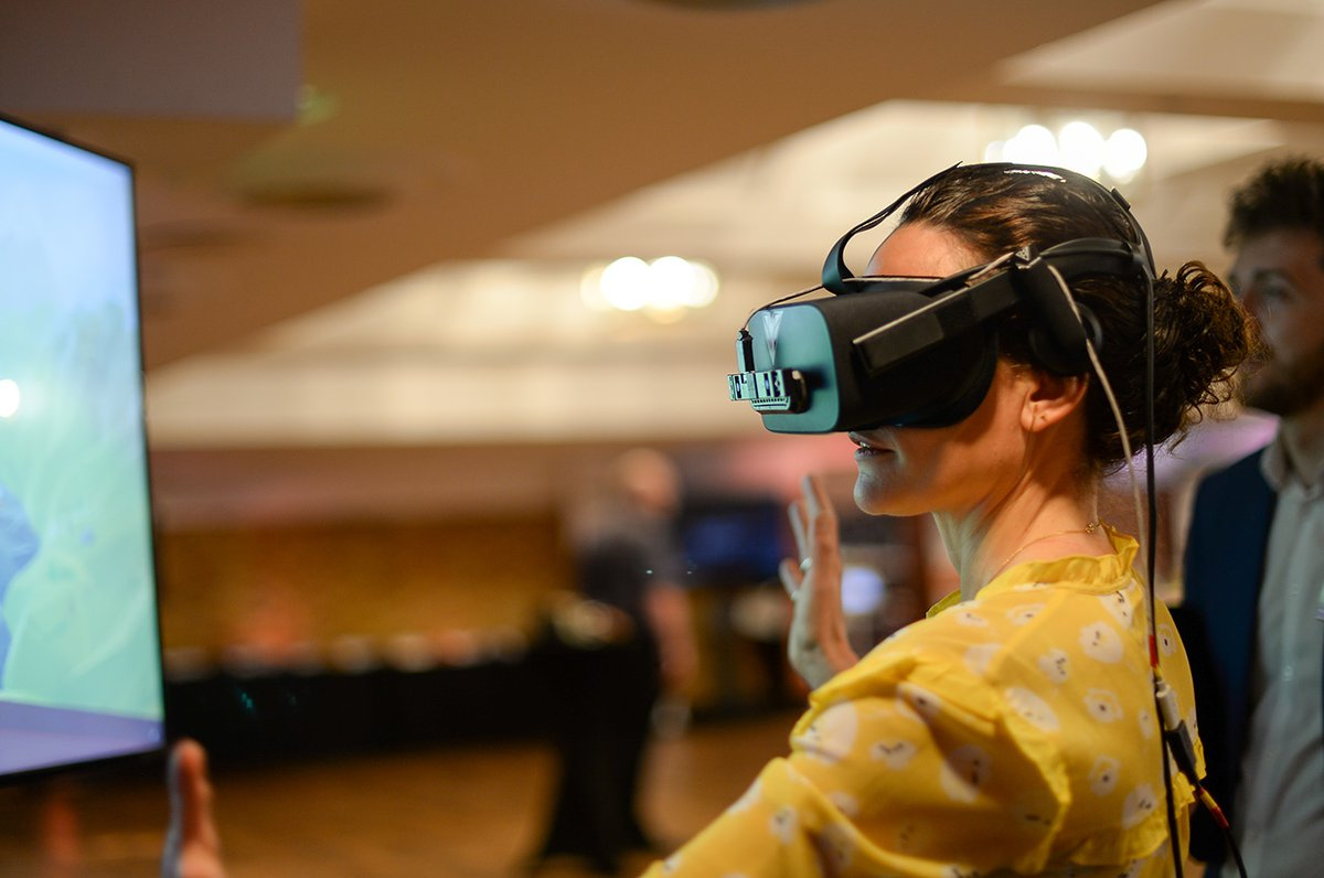 VR at the Future of People Powered Health event