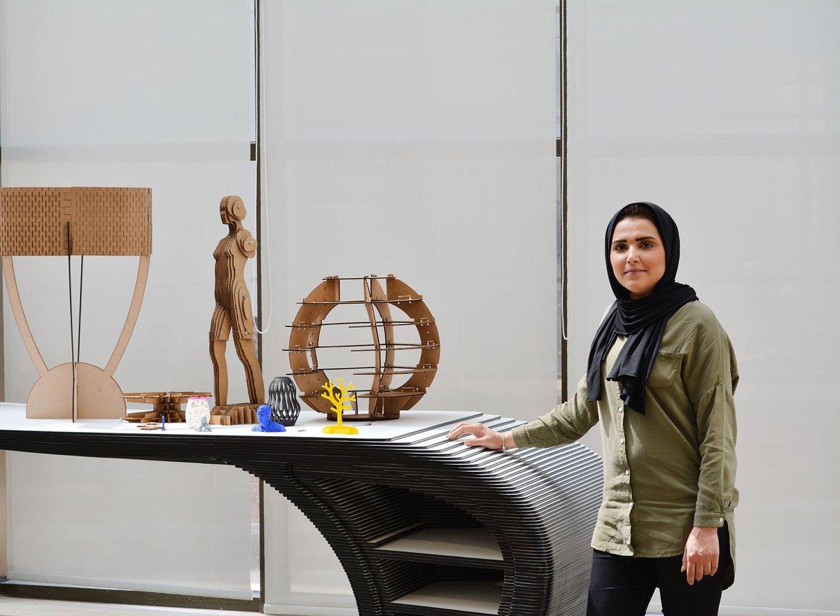 Razan Basim at Fab Lab - Creative Enterprise Programme case studies