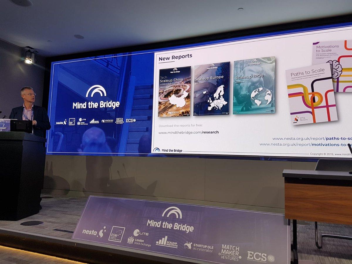 Nesta report launch at London Stock Exchange