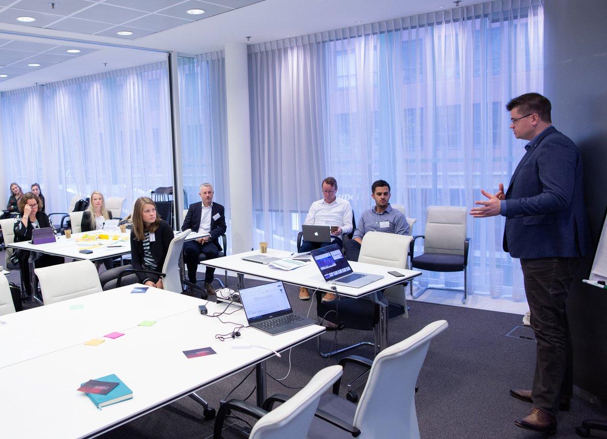 Ronald Kleijn presenting Make IT Work at our recent workshop