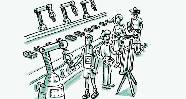 Machine economy graphic