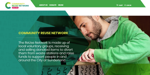Reuse Network home page