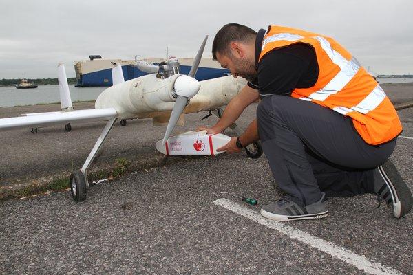 Southampton Drone Uses 4