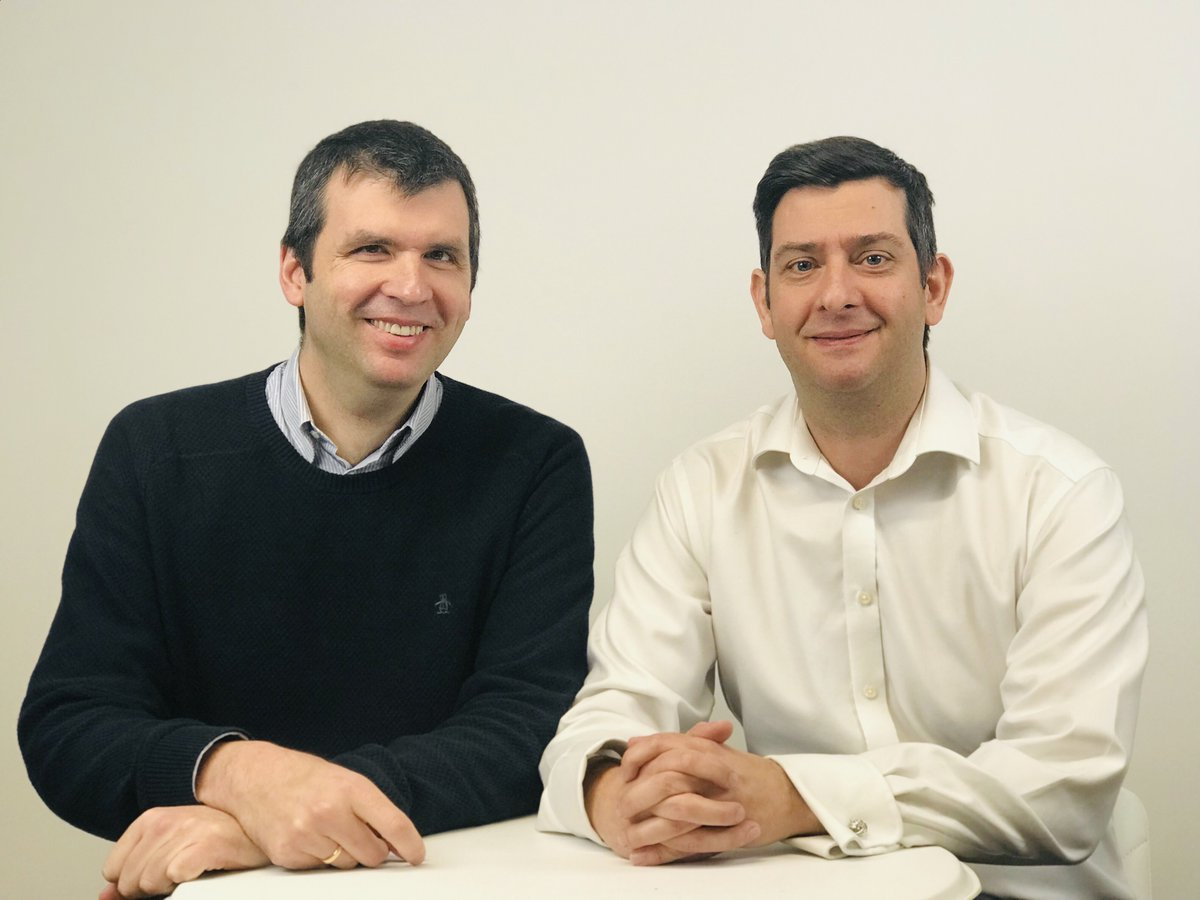 L-R: Dr Andres Fonseca and Dr Adam Huxley - Thrive Therapeutic Software co-founders