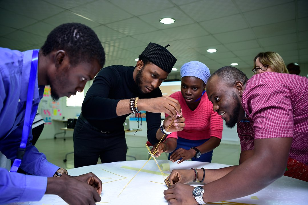 Creative Enterprise Programme participants in Nigeria, West Africa