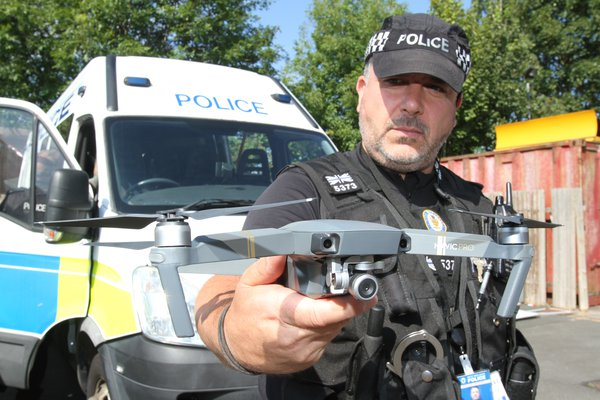 West Midlands Drone Uses 3