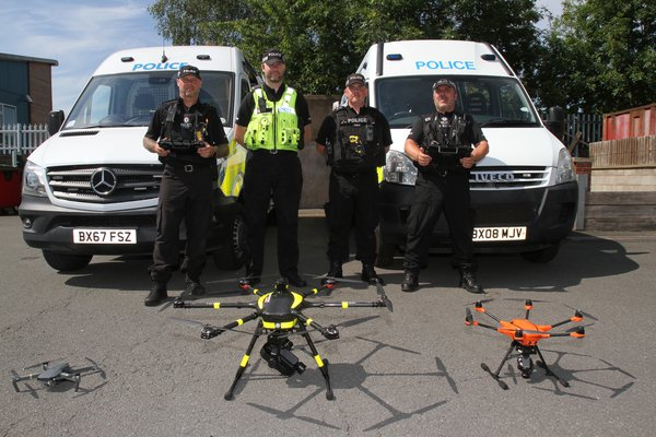 West Midlands Drone Uses 4