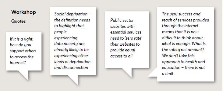 Workshop quotes DP Report 2020
