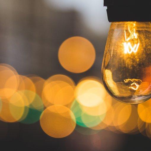 Unsplash: bulb