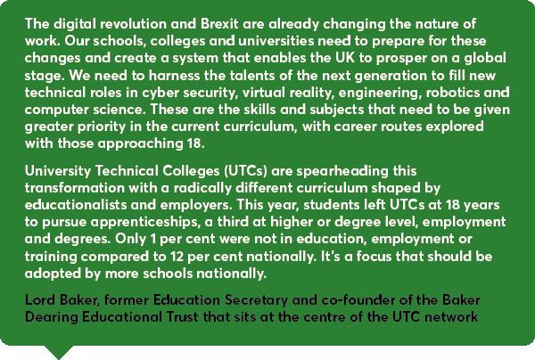 Education secretary quote