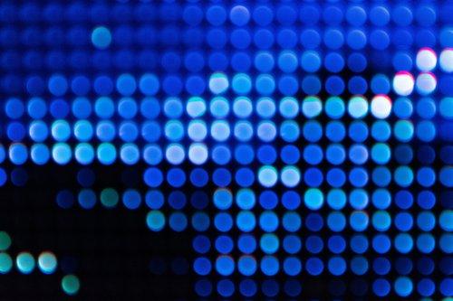 Blurred dots