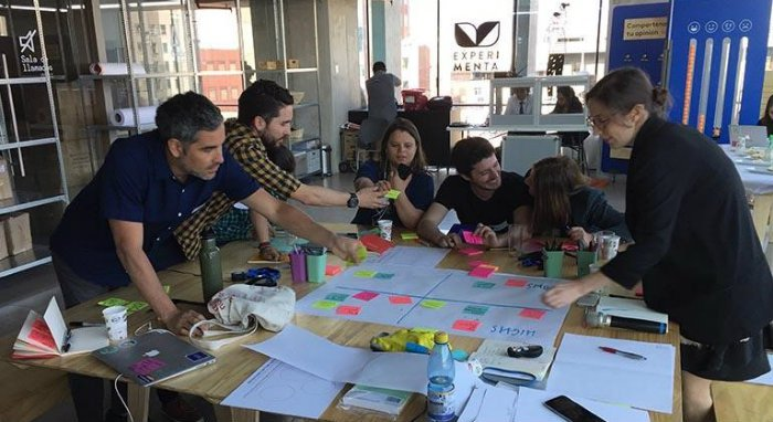 Nesta's Innovation Skills team in Chile