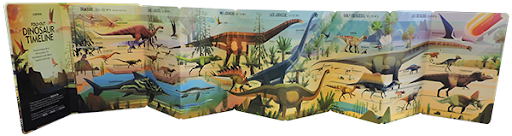 A fold out children's book