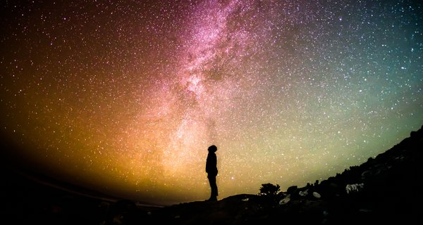 Unsplash: Future skills night sky