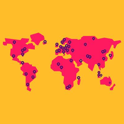 Partnerships around the world