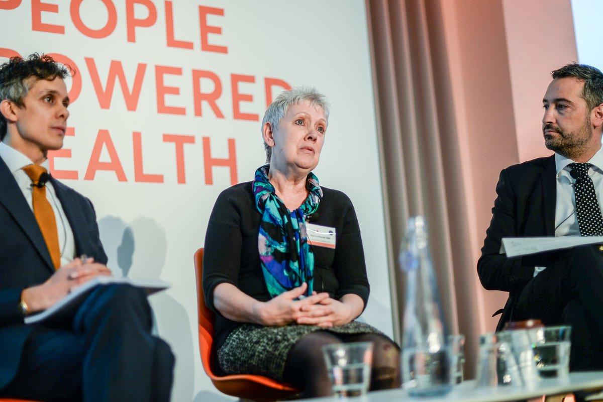 Panel discussion at People Powered Health event