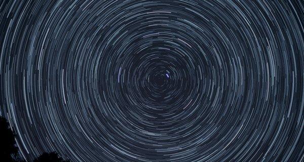 Night sky circles