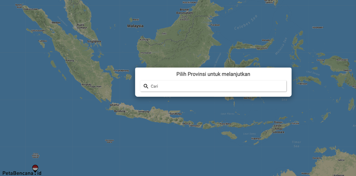 petabencana.id floodmap