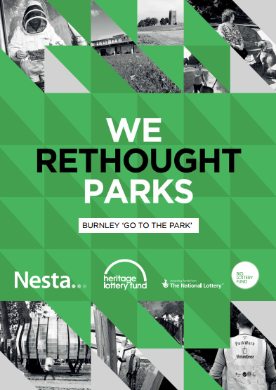 Rethinking Parks: Burnley report cover