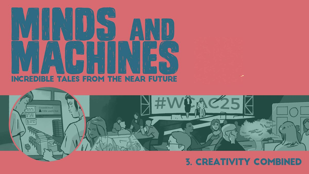 Minds and Machines comic cover
